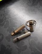 Srebro komplet kolczyki i pierścionek