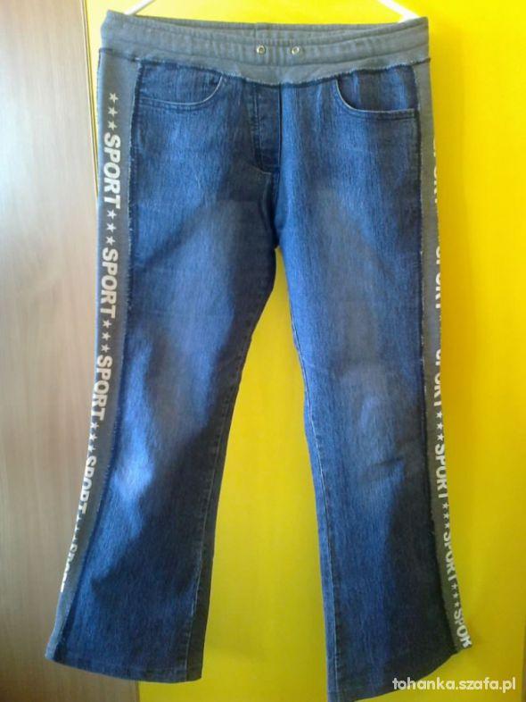 Spodnie Spodnie treningowe jeans