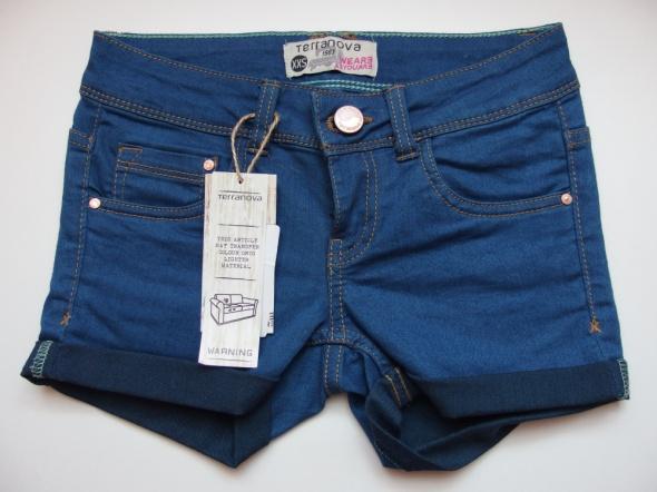 Spodenki Spodenki szorty jeansowe jeans Terranova xxs 32
