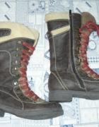 Długie ciepłe buty zimowe 39...