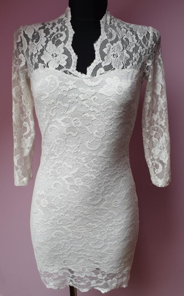 Sukienka z koronki Asos S...