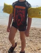 Bluzeczka kąpielowa na suwak lato basen...