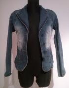 Marynarka jeans terranova S kieszenie...