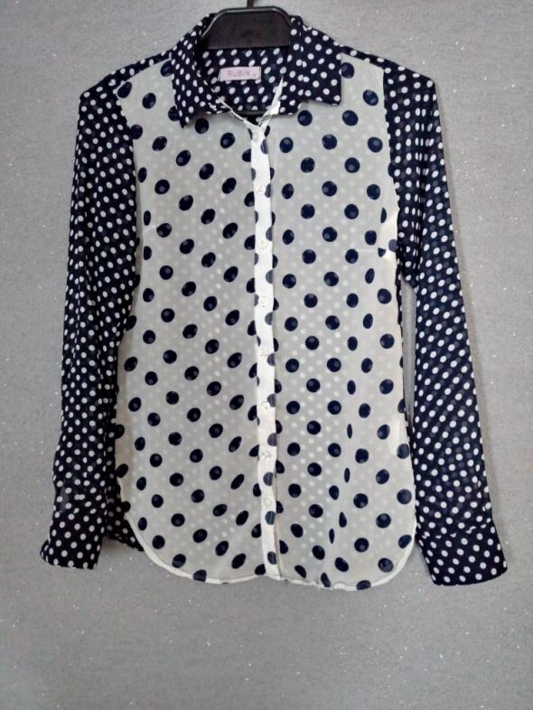 Koszula w grochy