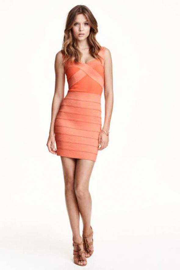 Sukienka H&m xs 34 bandażowa bandage pencil