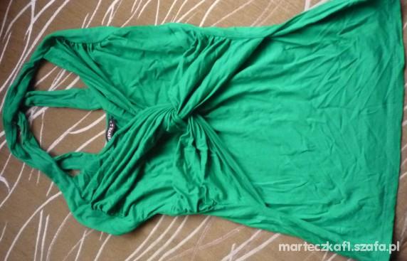 nowy top zielony