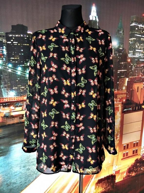 Koszule atmosphere koszula mgiełka wzór motyle motylki hit 42