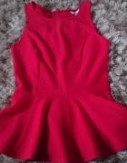 czerwona baskinka...