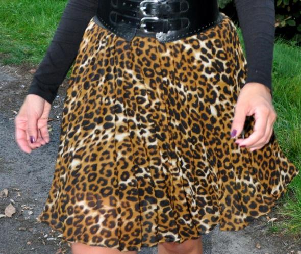 Spódnice spódnica w panterkę
