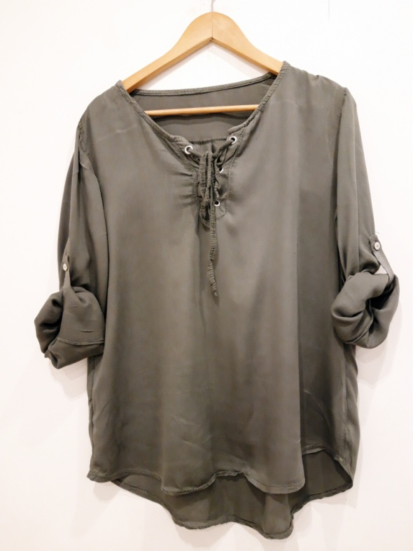 bluzka khaki M L...