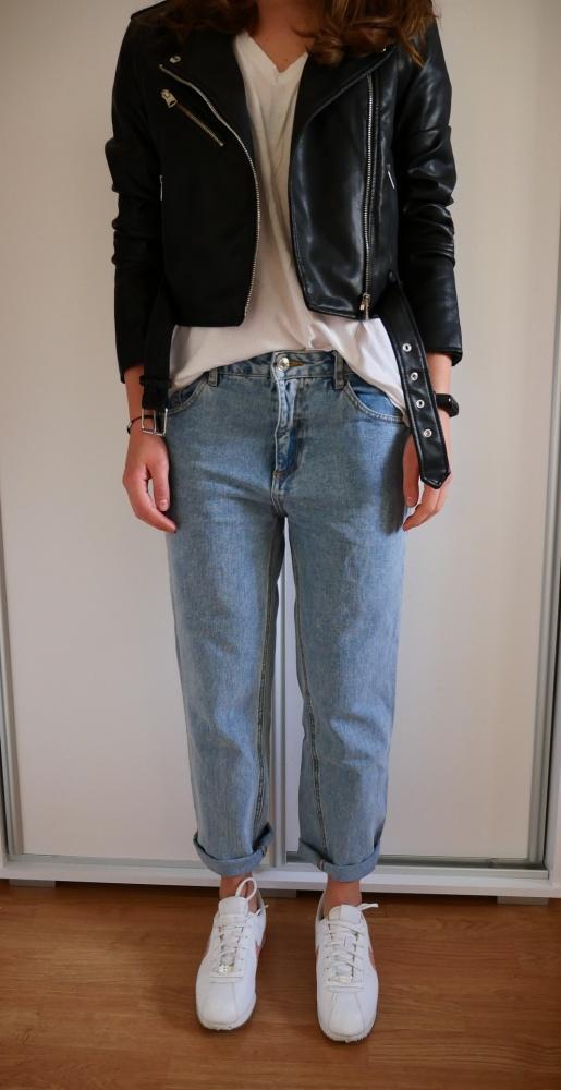 Spodnie Spodnie jeansowe Pull&Bear nowe boyfriendy