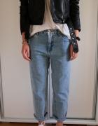 Spodnie jeansowe Pull&Bear nowe boyfriendy...