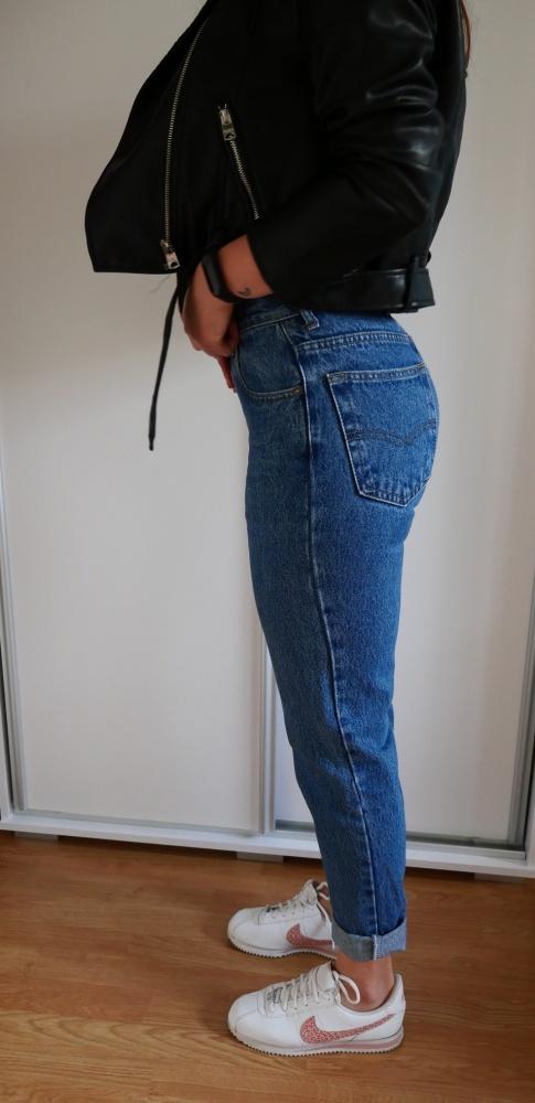 Spodnie jeansowe mom jeans