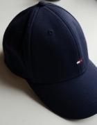 Tommy Hilfiger czapka z daszkiem granatowa