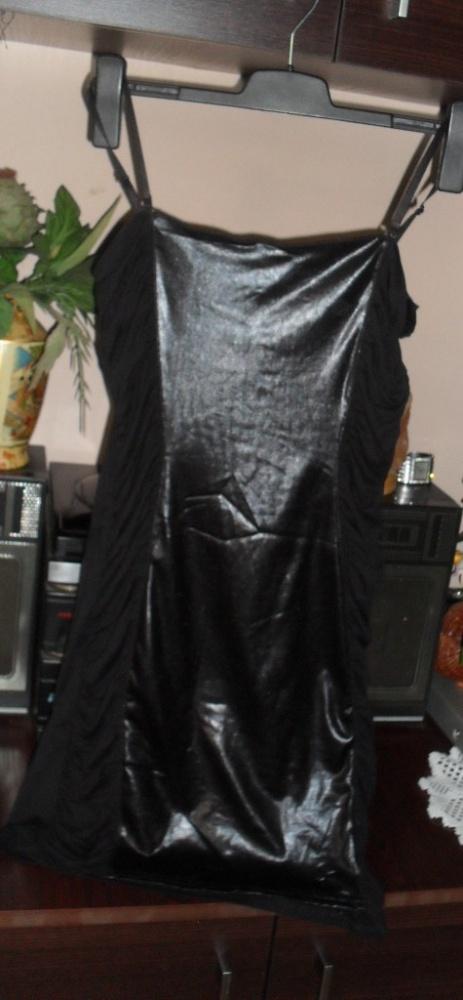 sukienka z wstawka z lajkry roz 38...