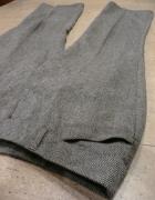 eleganckie spodnie piękny ciekawy materiał...