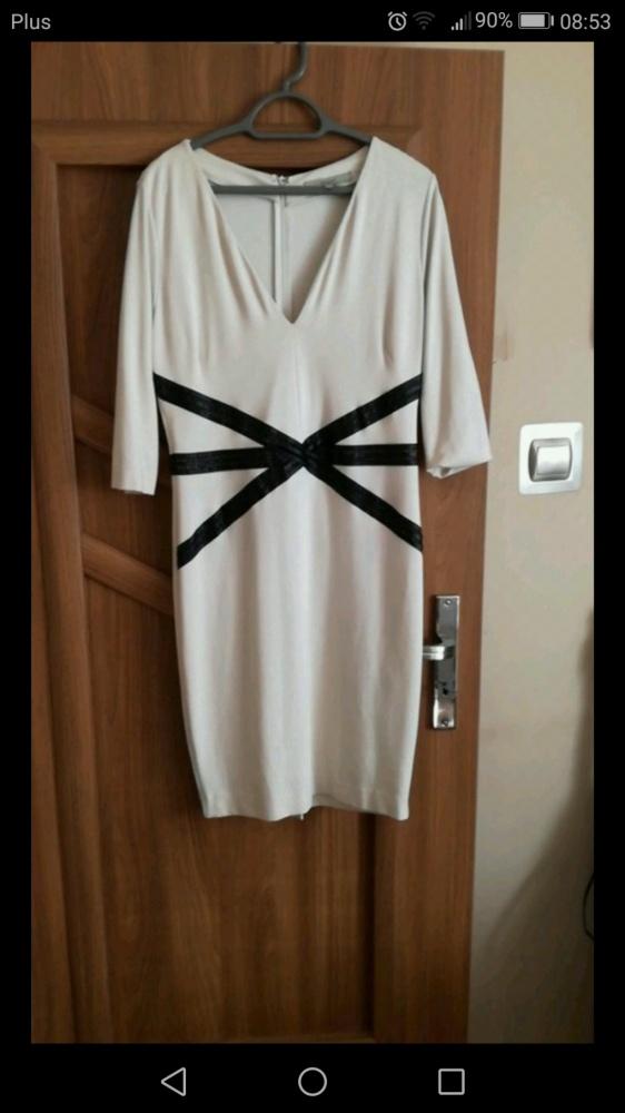 Spodenki Kremowa sukienka Monnari 44