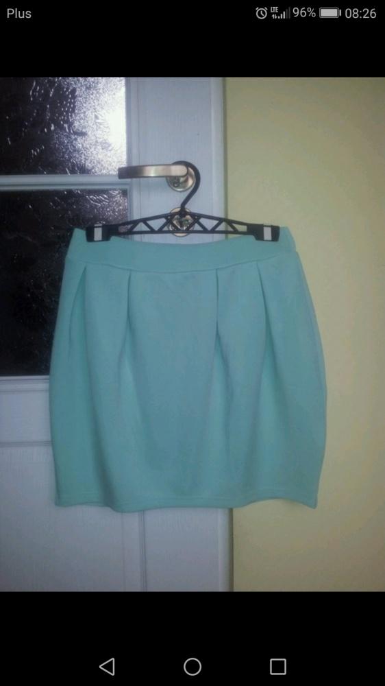 Spódnice Nowa miętowa spodniczka mini Troll