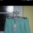Nowa miętowa spodniczka mini Troll