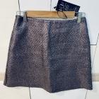 Nowa spódnica na sylwestra z metka trapezowa