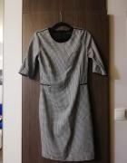 Sukienka w kratkę Reserved rozm XS...
