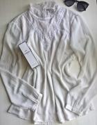 Śliczna bluzeczka z koronką L XL...