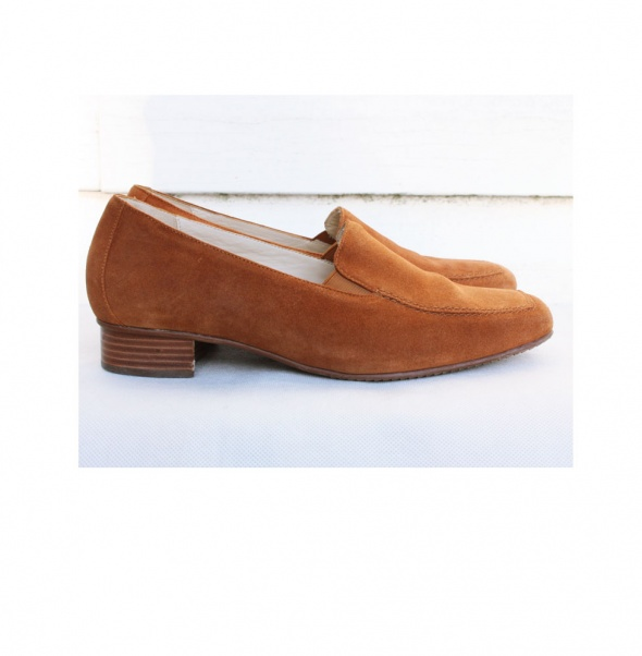 Zamszowe buty Verhulst...