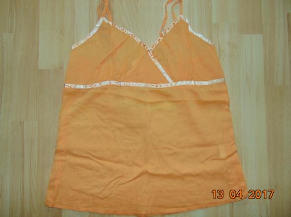 bluzka Top M pomarańczowa...