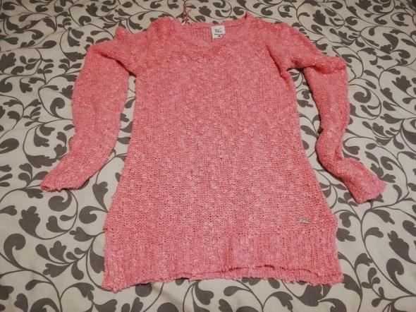 Swetry Rózowy Sinsay