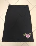 Czarna spódnica Hennes L 40...