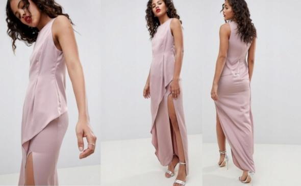 Suknie i sukienki Przepiękna pudrowa ASOS