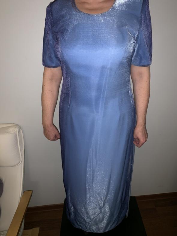 jak nowa wieczorowa sukienka 2w1 42