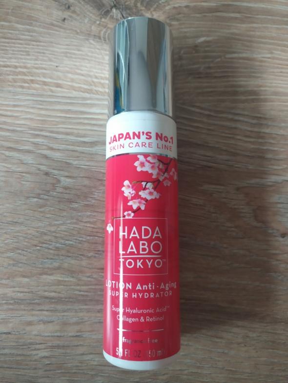 Hada Labo Tokyo Lotion Anti aging Super Hydrator Intensywny nawilżacz skóry z formułą przeciwzmarszczkową