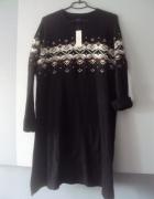 nowa sweterkowa sukienka...