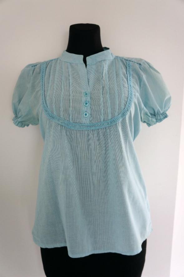 Oryginalna letnia bluzka wiązana w talii...