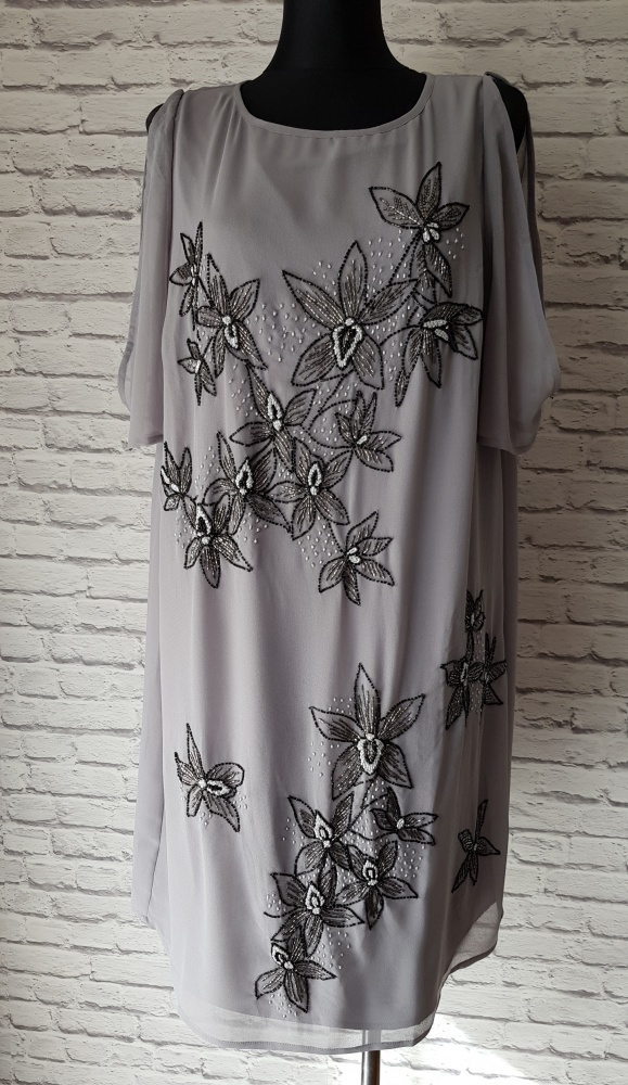 Szara sukienka Asos 48...
