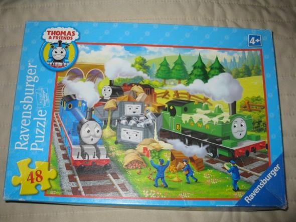 Zabawki Puzzle Tomek i przyjaciele 48 szt