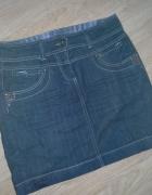Jeansowa spodnica spodniczka Cameaieu...