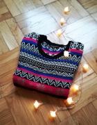 Świąteczny ciepły sweter w norweskie wzory na zimę Terranova...