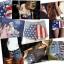TOPSHOP 26 FLAGA SZORTY VINTAGE USA MOTO