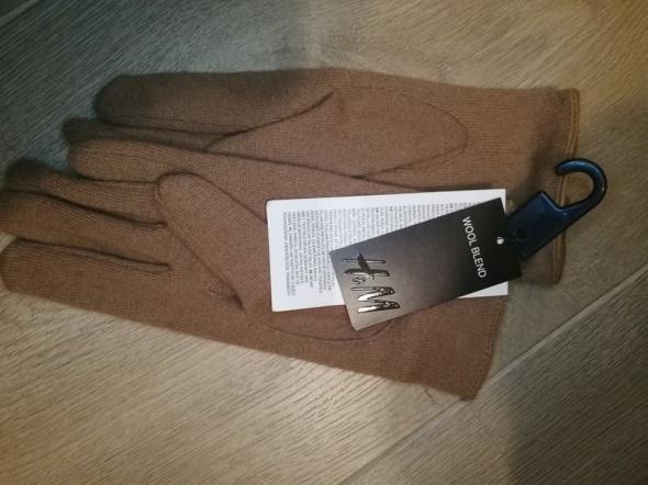 Rękawiczki nowe Brązowe rękawiczki h&m