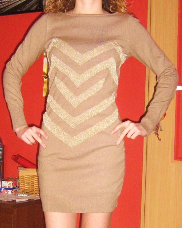 Ciepły sweterek tunika S M