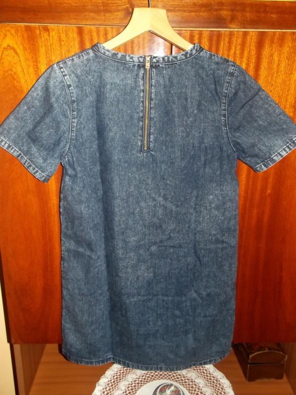 jeansowa tunika