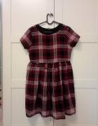 Sukienka w kratkę New Look...