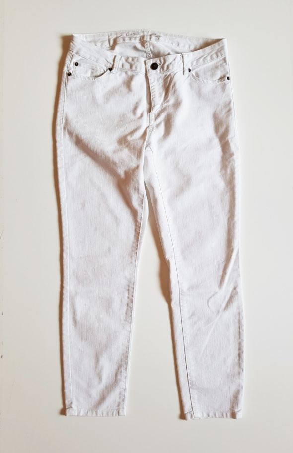 LINDEX jeansy białe r 40 Stan DOSKONAŁY