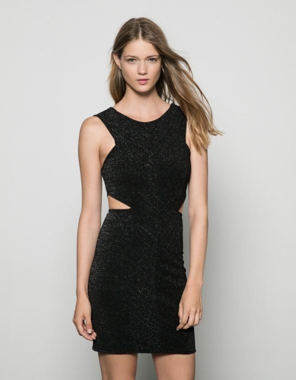 Bershka nowa czarna sukienka cut out rozmiar M...