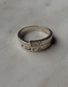 Srebro próba 925 pierścionek grecki wzór 17...