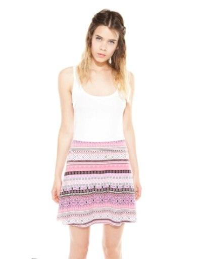 Bershka śliczna sukienka w azteckie wzory M...