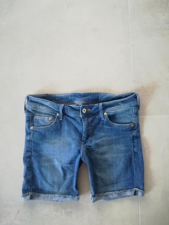 Spodenki Modne spodenki jeans Denim L