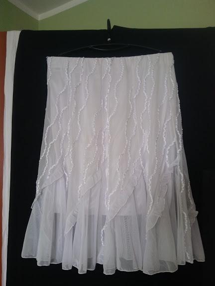 Spódnice spódniczka w kliny i guma w pasie